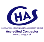 CHAS Contractors Health & Saftey Assessment Scheme - Accredited Contractor - www.chas.gov.uk