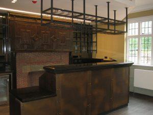 refurbished bar area