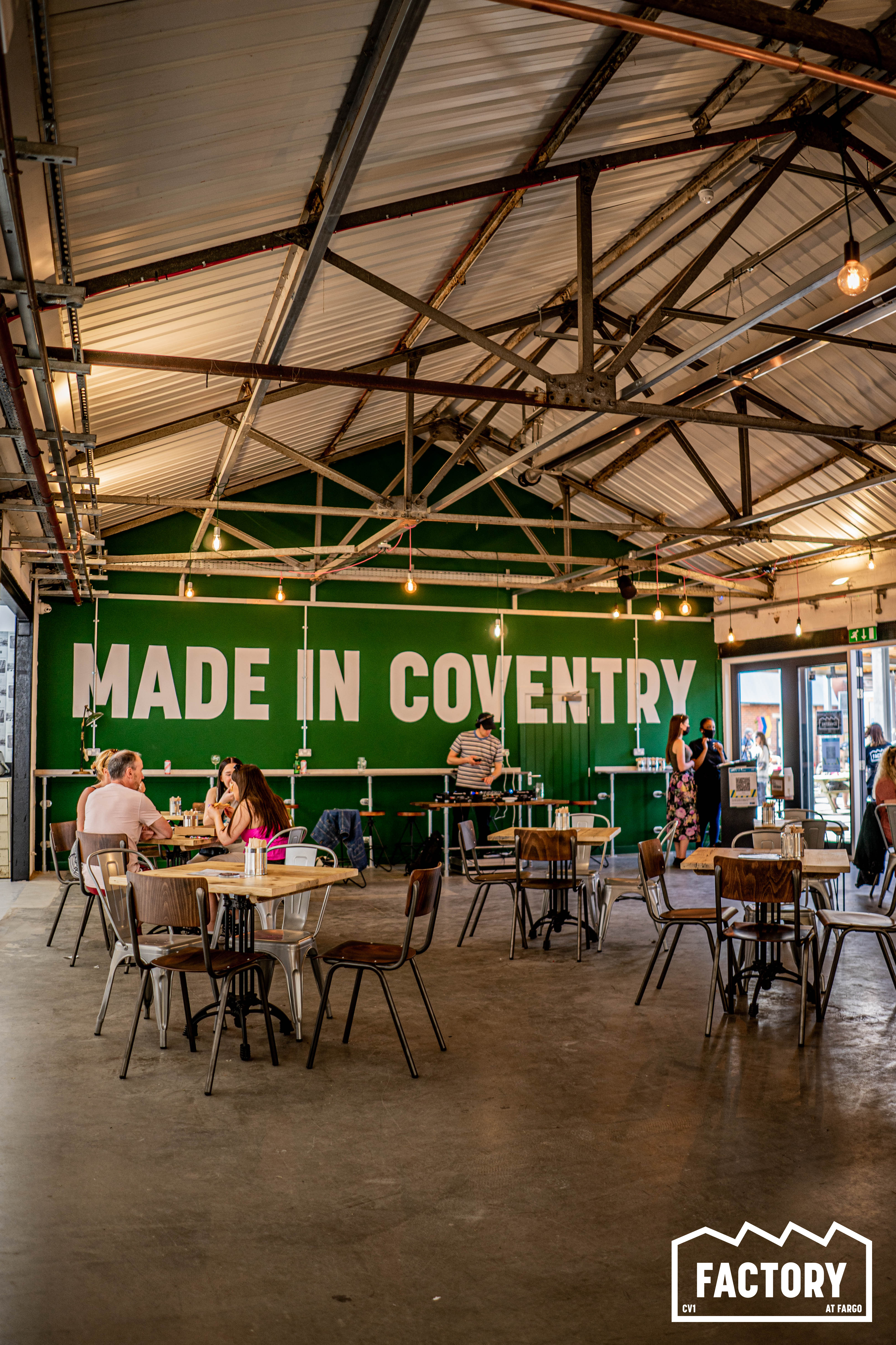 Made in Coventry at Factory
